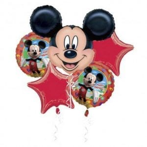 BALLOON BOUQUET KIT MICKEY MOUSE BIRTHDAY