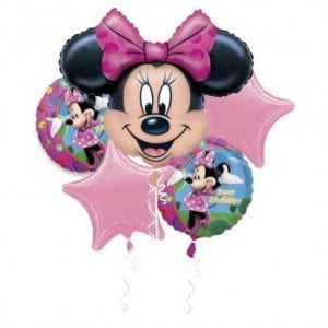 BALLOON BOUQUET KIT MINNIE MOUSE BIRTHDAY