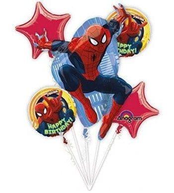 BALLOON BOUQUET KIT SPIDERMAN BIRTHDAY