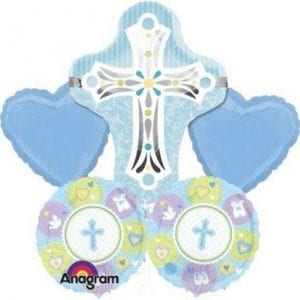 BALLOON BOUQUET KIT BLUE CROSS