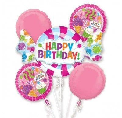BALLOON SWEET SHOP BIRTHDAY