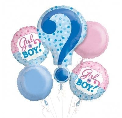 Boy Or Girl Melbourne Helium Balloon Bouquets