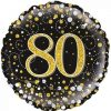 80th Black and Gold
