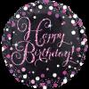 Happy Birthday Foil Pink